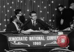 Image of John F Kennedy nominated for President Los Angeles California USA, 1960, second 45 stock footage video 65675042244
