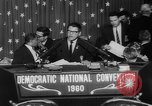 Image of John F Kennedy nominated for President Los Angeles California USA, 1960, second 50 stock footage video 65675042244
