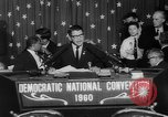 Image of John F Kennedy nominated for President Los Angeles California USA, 1960, second 52 stock footage video 65675042244
