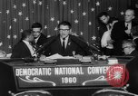 Image of John F Kennedy nominated for President Los Angeles California USA, 1960, second 53 stock footage video 65675042244