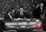 Image of John F Kennedy nominated for President Los Angeles California USA, 1960, second 55 stock footage video 65675042244