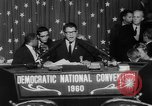 Image of John F Kennedy nominated for President Los Angeles California USA, 1960, second 56 stock footage video 65675042244
