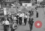 Image of anti-war demonstration in New York New York City USA, 1935, second 6 stock footage video 65675042248