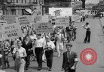 Image of anti-war demonstration in New York New York City USA, 1935, second 8 stock footage video 65675042248
