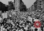 Image of anti-war demonstration in New York New York City USA, 1935, second 15 stock footage video 65675042248