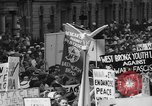 Image of anti-war demonstration in New York New York City USA, 1935, second 17 stock footage video 65675042248