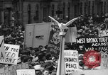 Image of anti-war demonstration in New York New York City USA, 1935, second 18 stock footage video 65675042248