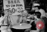 Image of Schepps Beer offered at special price of 60 cents an hour Dallas Texas United States USA, 1935, second 20 stock footage video 65675042250