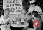 Image of Schepps Beer offered at special price of 60 cents an hour Dallas Texas United States USA, 1935, second 22 stock footage video 65675042250