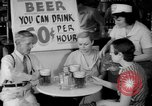 Image of Schepps Beer offered at special price of 60 cents an hour Dallas Texas United States USA, 1935, second 23 stock footage video 65675042250