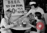 Image of Schepps Beer offered at special price of 60 cents an hour Dallas Texas United States USA, 1935, second 24 stock footage video 65675042250