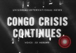 Image of Belgian refugees Congo, 1960, second 1 stock footage video 65675042251