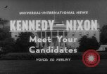 Image of John F Kennedy campaigning for 1960 election United States USA, 1960, second 1 stock footage video 65675042263
