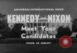 Image of John F Kennedy campaigning for 1960 election United States USA, 1960, second 4 stock footage video 65675042263