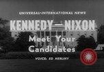 Image of John F Kennedy campaigning for 1960 election United States USA, 1960, second 6 stock footage video 65675042263