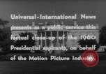 Image of John F Kennedy campaigning for 1960 election United States USA, 1960, second 15 stock footage video 65675042263