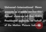 Image of John F Kennedy campaigning for 1960 election United States USA, 1960, second 17 stock footage video 65675042263