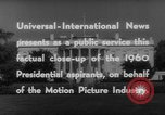 Image of John F Kennedy campaigning for 1960 election United States USA, 1960, second 18 stock footage video 65675042263