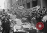 Image of John F Kennedy campaigning for 1960 election United States USA, 1960, second 42 stock footage video 65675042263