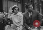 Image of John F Kennedy campaigning for 1960 election United States USA, 1960, second 49 stock footage video 65675042263