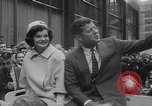 Image of John F Kennedy campaigning for 1960 election United States USA, 1960, second 50 stock footage video 65675042263