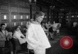 Image of fashion parade Switzerland, 1959, second 38 stock footage video 65675042280