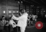 Image of fashion parade Switzerland, 1959, second 40 stock footage video 65675042280