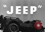 Image of jeep United States USA, 1943, second 13 stock footage video 65675042282
