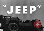 Image of jeep United States USA, 1943, second 14 stock footage video 65675042282