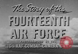 Image of United States aircraft China, 1945, second 30 stock footage video 65675042284