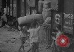 Image of transporting supplies Calcutta India, 1945, second 45 stock footage video 65675042285
