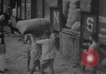 Image of transporting supplies Calcutta India, 1945, second 46 stock footage video 65675042285
