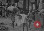 Image of transporting supplies Calcutta India, 1945, second 49 stock footage video 65675042285
