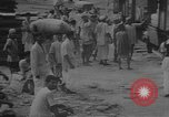 Image of transporting supplies Calcutta India, 1945, second 52 stock footage video 65675042285