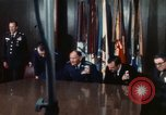 Image of Joint Chiefs of Staff posing for pictures Washington DC USA, 1974, second 39 stock footage video 65675042309