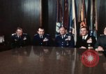Image of Joint Chiefs of Staff posing for pictures Washington DC USA, 1974, second 44 stock footage video 65675042309