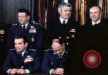 Image of Joint Chiefs of Staff photographed by the press Washington DC USA, 1974, second 23 stock footage video 65675042311