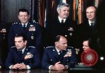 Image of Joint Chiefs of Staff photographed by the press Washington DC USA, 1974, second 24 stock footage video 65675042311