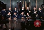 Image of Joint Chiefs of Staff photographed by the press Washington DC USA, 1974, second 28 stock footage video 65675042311