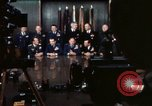 Image of Joint Chiefs of Staff photographed by the press Washington DC USA, 1974, second 29 stock footage video 65675042311