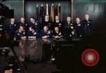 Image of Joint Chiefs of Staff photographed by the press Washington DC USA, 1974, second 32 stock footage video 65675042311