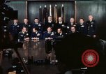 Image of Joint Chiefs of Staff photographed by the press Washington DC USA, 1974, second 36 stock footage video 65675042311