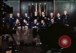 Image of Joint Chiefs of Staff photographed by the press Washington DC USA, 1974, second 37 stock footage video 65675042311