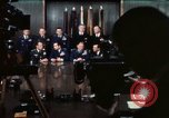 Image of Joint Chiefs of Staff photographed by the press Washington DC USA, 1974, second 38 stock footage video 65675042311