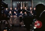Image of Joint Chiefs of Staff photographed by the press Washington DC USA, 1974, second 39 stock footage video 65675042311