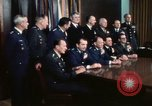 Image of Joint Chiefs of Staff photographed by the press Washington DC USA, 1974, second 42 stock footage video 65675042311