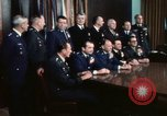 Image of Joint Chiefs of Staff photographed by the press Washington DC USA, 1974, second 43 stock footage video 65675042311