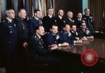 Image of Joint Chiefs of Staff photographed by the press Washington DC USA, 1974, second 45 stock footage video 65675042311