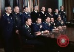 Image of Joint Chiefs of Staff photographed by the press Washington DC USA, 1974, second 46 stock footage video 65675042311