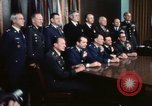 Image of Joint Chiefs of Staff photographed by the press Washington DC USA, 1974, second 47 stock footage video 65675042311